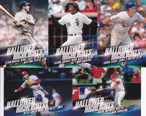 2016 Topps s2 Hallowed Highlights