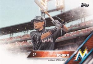 2016 Topps s2 Ichiro