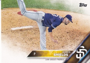 2016 Topps s2 James Shields