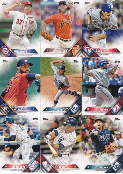 2016 Topps s2 notable players
