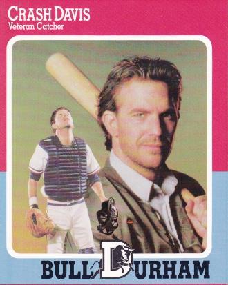 1988 Bull Durham Gatorade Promotional Crash Kevin Costner