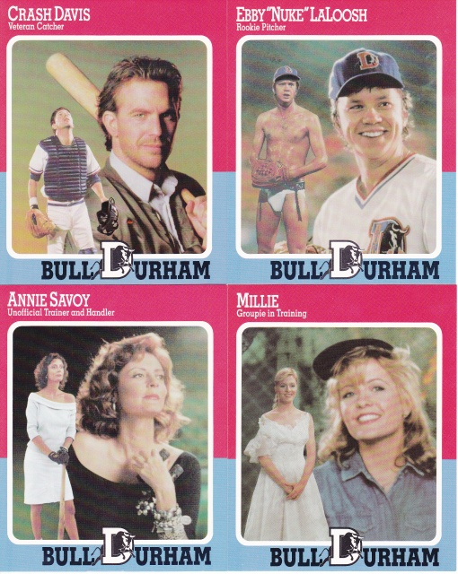 1988 Bull Durham Gatorade Promotional full set