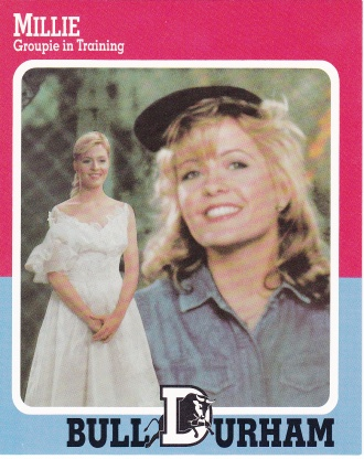 1988 Bull Durham Gatorade Promotional Millie