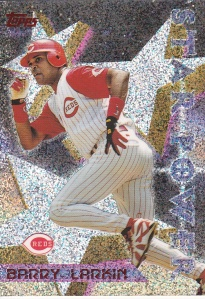 1996 Topps Power Boosters Barry Larkin