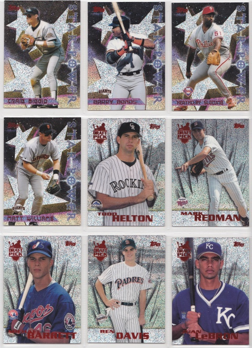 1996 Topps Power Boosters Complete 2