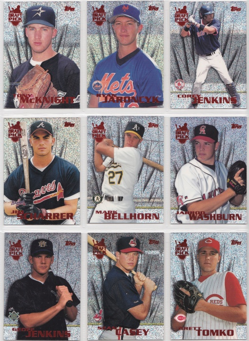 1996 Topps Power Boosters Complete 3