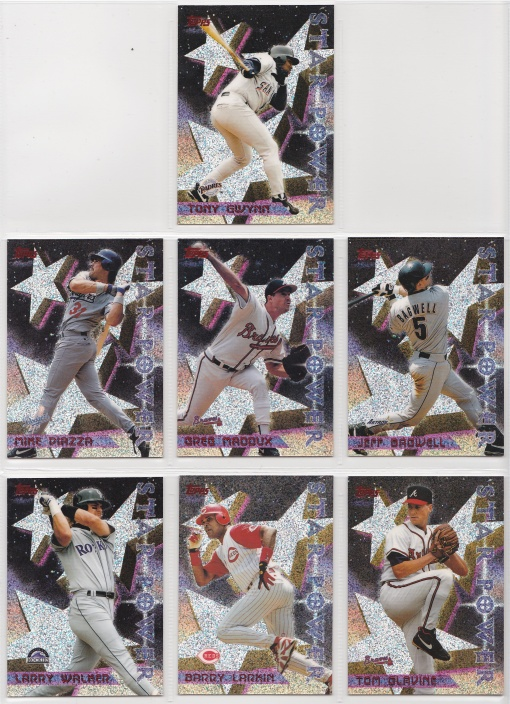 1996 Topps Power Boosters Complete