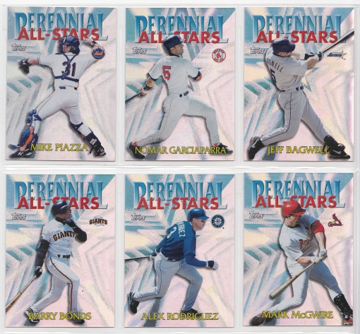 2000 Topps Perennial All-Stars complete 2