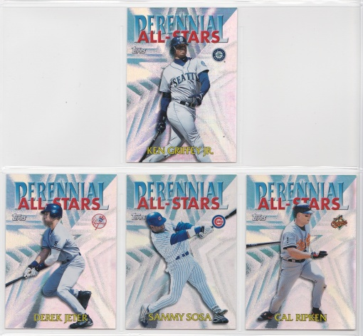 2000 Topps Perennial All-Stars complete