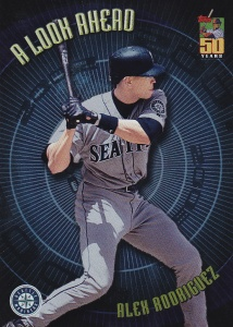 2001 Topps A Look Ahead A Rod