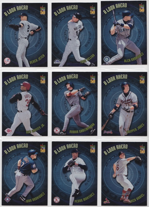 2001 Topps A Look Ahead complete