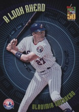 2001 Topps A Look Ahead - front
