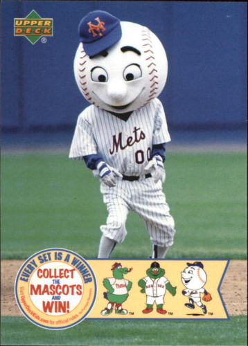 info for 454a9 0f58b Monday Mascots #7: Mr. Met | Lifetime Topps project