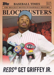 2012 Topps Update Blockbusters Ken Griffey Jr.