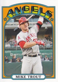 2013 Topps 72 minis Trout