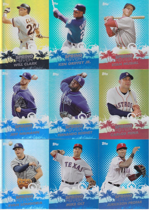 2013 Topps Spring Fever complete 5