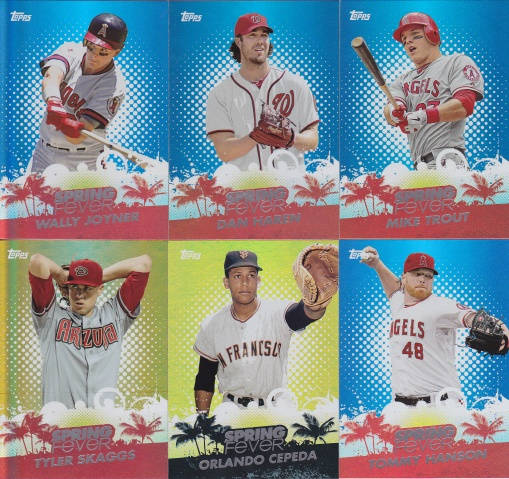 2013 Topps Spring Fever complete