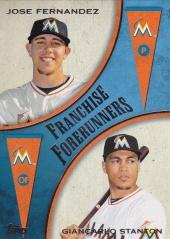 2013 Topps Update Franchise Forerunners Stanton Fernandez