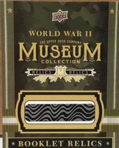 2016 Goodwin box 1 museum booklet redemption
