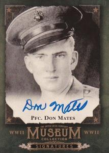 2016 Goodwin Museum Signatures Don Mates