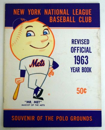 Mr Met - 1963 Yearbook