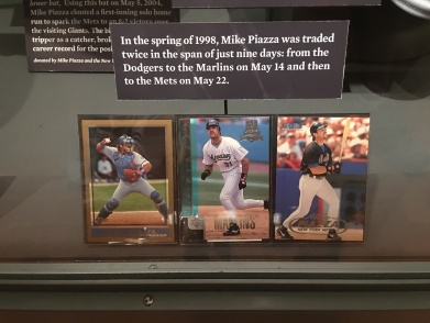 Piazza cards in display