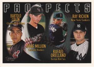 1996 Topps Colon PROS