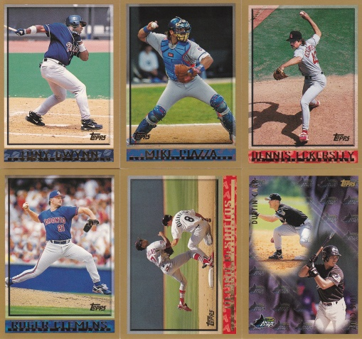 1998 Topps first card and 00s
