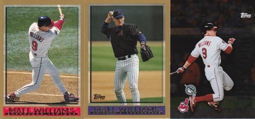 1998 Topps most cards - Matt Williams