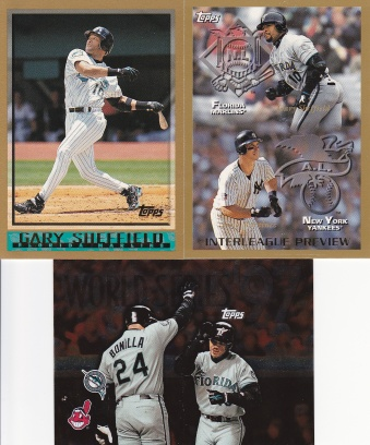 1998 Topps most cards - Sheffield