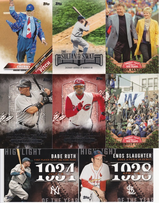 Trade - Addiction as Therapy Topps inserts