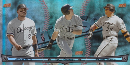 2013 Topps Archives Triumvirate White Sox Belle Ventura Thomas