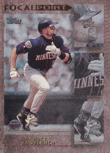 1998 Topps Focal Point - front