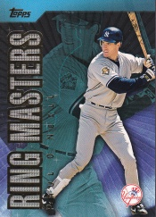 2002 Topps Ring Masters front