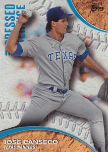 2016 Topps Pressed Into Service front