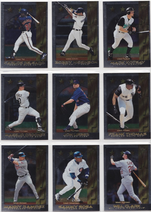 Topps 2000s | Lifetime Topps project