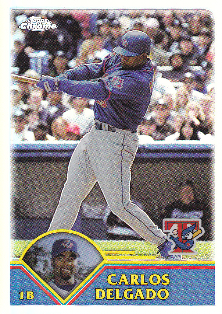 2003 Topps Parallels Carlos Delgado Finally Finished